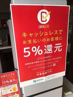 5 店舗 ペイペイ パーセント 還元